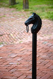 Hitching post Royalty Free Stock Images