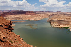 Hite Overlook Lake Powell Utah Stock Photos
