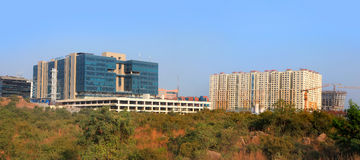 Hitec city ,Hyderabad Royalty Free Stock Images