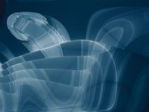 Hitechblåttdesign Arkivfoto