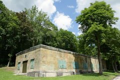 Hitler bunker in Margival, Aisne, Picardie in the north of France Royalty Free Stock Photos