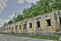 Hitler bunker in Margival, Aisne, Picardie in the north of France Royalty Free Stock Images