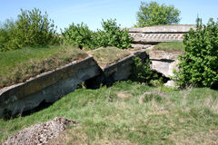 Bunkers Stock Image