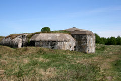 Bunkers Royalty Free Stock Photography