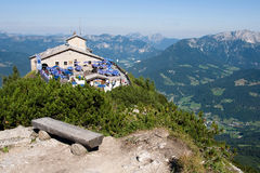 Hitler`s Eagle`s Nest near Berchtesgaden. BERCHTESGADEN, GERMANY CIRCA AUGUST 2013 - mountain retreat of Adolf Hitler, built by Martin Bormann in 1937 Stock Photography
