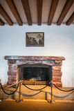 Hitler`s fire place. Berchtesgaden, Germany - September 28, 2016: View of the fire place in the Kehlsteinhaus, also known as Hitler`s Eagle Nest, near royalty free stock images