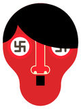 Hitler - vector illustration Royalty Free Stock Image