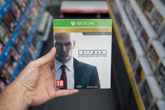 Hitman the complete first season videogame on XBOX One Stock Photography