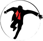 Hitman. Has been illustrated as vector Stock Photography