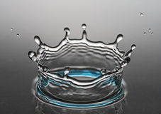 Hits water Royalty Free Stock Photo