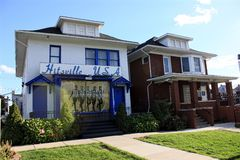 Hitsville USA. Image of the Motown Museum, also know as Hitsville, USA, located in Detroit, Michigan Royalty Free Stock Image