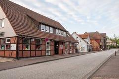 Hittfeld town in Germany Stock Photo