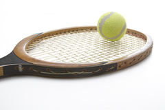 Hitting the ball royalty free stock images