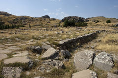 Hittite capital Hattusa Royalty Free Stock Image
