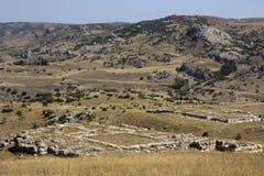 Hittites antyczne Ruiny zdjęcia royalty free