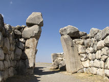 Hittites Gate Stock Photo