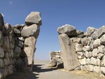 Hittites Gate stock photo