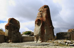 Hittites, Hattusa Fotografia de Stock