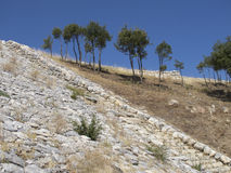 Hittites Stairs stock photo