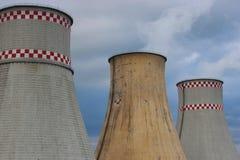 Hitze und Kraftwerk Stockbild