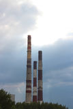 Hitze und Kraftwerk Stockfotos