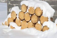 Hitze vorbereitet für die Wintertage lizenzfreies stockfoto