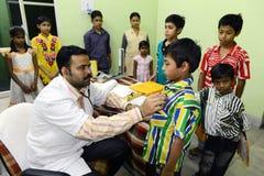HIV孩子 免版税库存图片