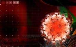HIV病毒 库存图片