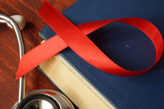 HIV艾滋病诊断 免版税库存图片