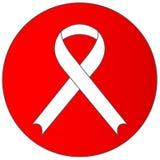 HIV/AIDS znak - sztandar royalty ilustracja