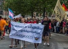 HIV-attivisti Immagine Stock Libera da Diritti