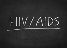HIV het concept van AIDS Royalty-vrije Stock Foto