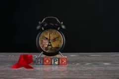 Hiv hulp Stock Foto