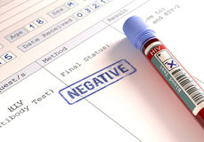 HIV Negative Stock Image