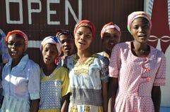 HIV-Orphants Ama Buruxa på konst för Oa Hera & kulturella Cente royaltyfri fotografi