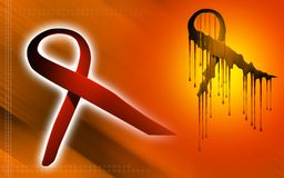 HIV ribbon Stock Images