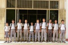 HIV Studenten Stock Foto