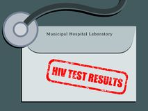 HIV test Stock Photo