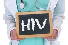 HIV van de de diagnoseziekte van AIDS de ziekte gezonde gezondheid zieke arts nur stock fotografie