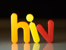 HIV virus Stock Photos