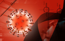 HIV Virus Stock Image