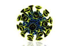 HIV Virus Royalty Free Stock Image