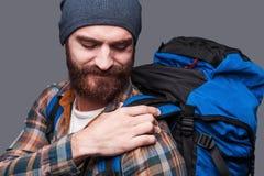 Hiva för ryggsäcken Royaltyfri Bild