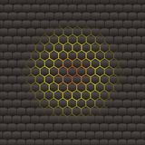 Hive Hexagonal Background Stock Images