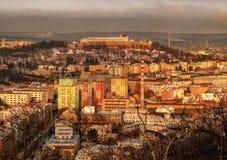 Hiver à Brno Photographie stock
