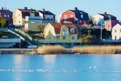 Hiver dans Karlskrona Images libres de droits