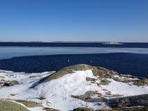 Hiver dans l'archipel Photo libre de droits