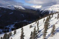 Hiver dans le Canada, Banff Photos libres de droits