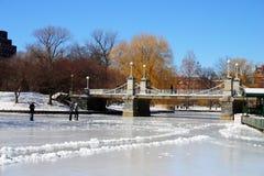 Hiver de Boston Image libre de droits