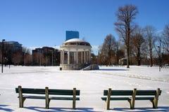 Hiver de Boston Images libres de droits